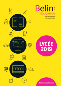 Catalogue Lycée Belin Education
