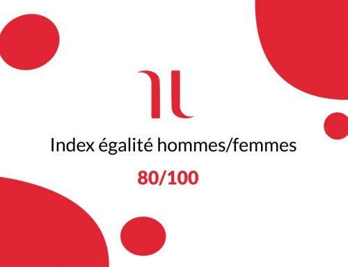 Résultat de l'Index Egalité Professionnelle entre les hommes et les femmes